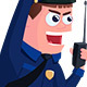 Cartoon Policeman - VideoHive Item for Sale