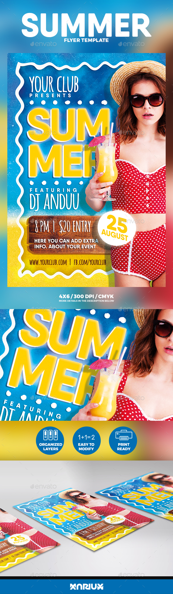 Summer Flyer - Events Flyers