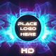 Blue Waving Particle Logo Opener - VideoHive Item for Sale