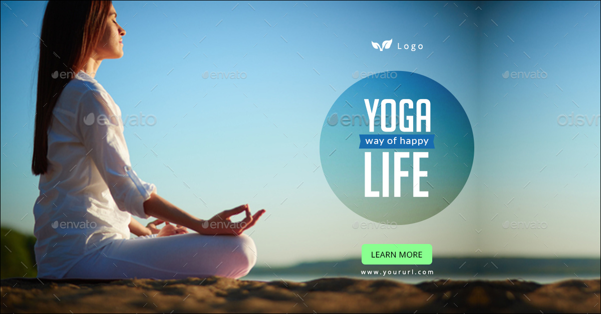Yoga Banners By Doto