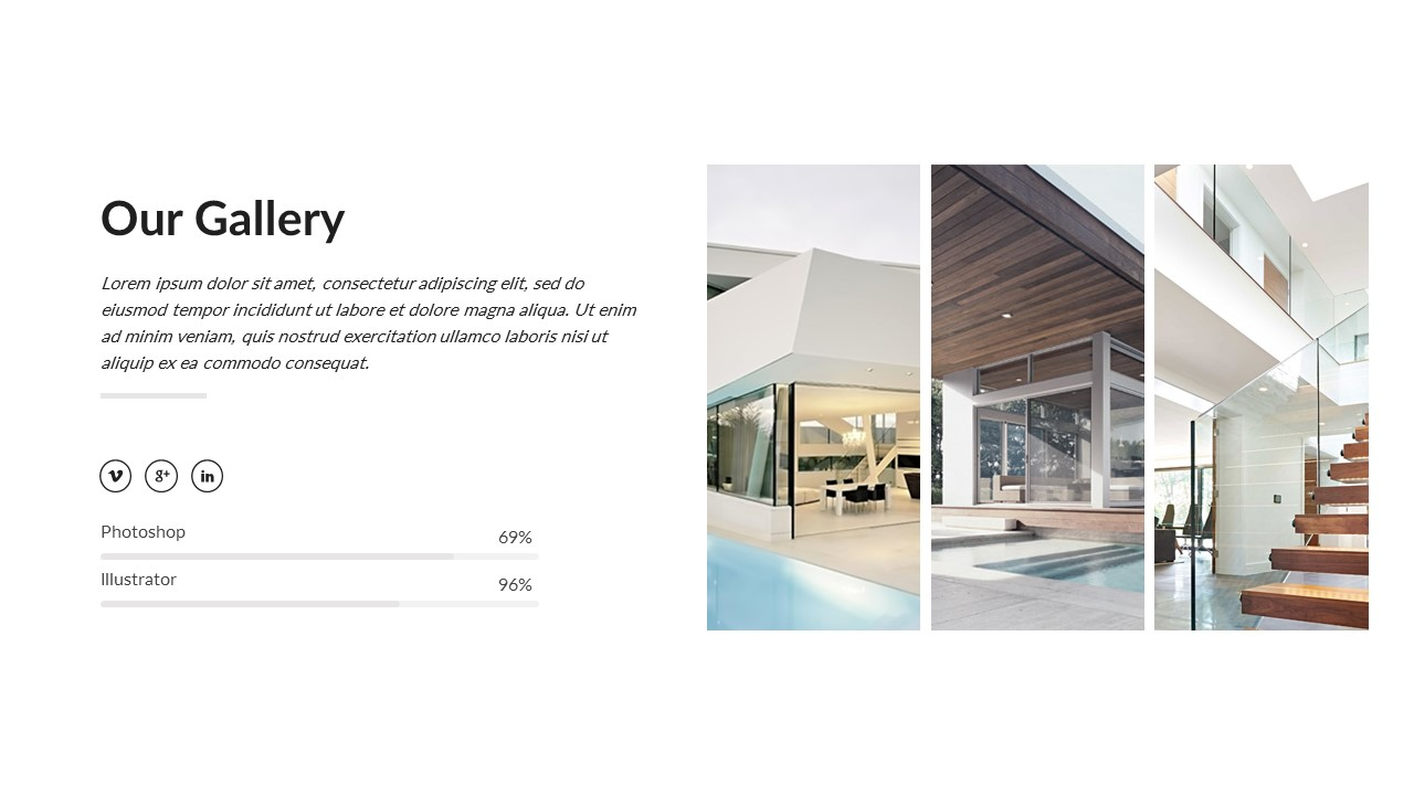 Architecture and interior powerpoint template by Interior design presentation templates
