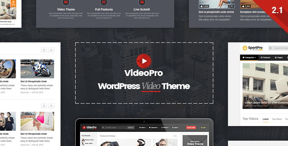 VideoPro - Video WordPress Theme