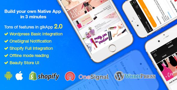 gikApp - React Native Full Application - CodeCanyon Item for Sale