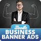 Business, Corporate, Investment Banners Ads