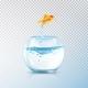 Boiling Fish Aquarium Composition