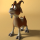 Cartoon Goat Rigged - 3DOcean Item for Sale
