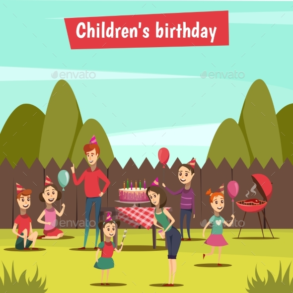 Childrens Bithday Party - Seasons/Holidays Conceptual