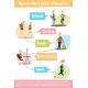 Elderly People Infographic Set
