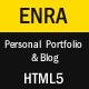 Enra - Personal Portfolio & Blog Template