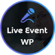 Live Event - Single Conference, Event, Meetup WordPress Theme - ThemeForest Item for Sale