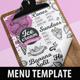 Ice Cream Menu - GraphicRiver Item for Sale