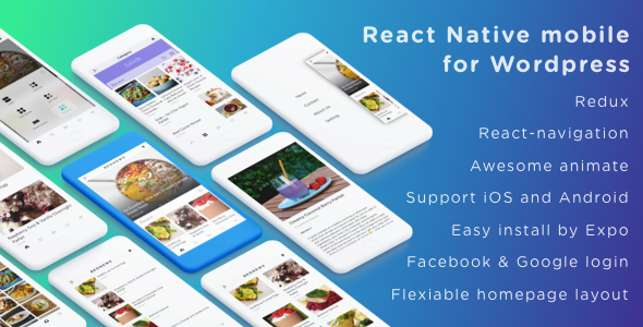 BeoNews - React Native mobile app for Wordpress - CodeCanyon Item for Sale