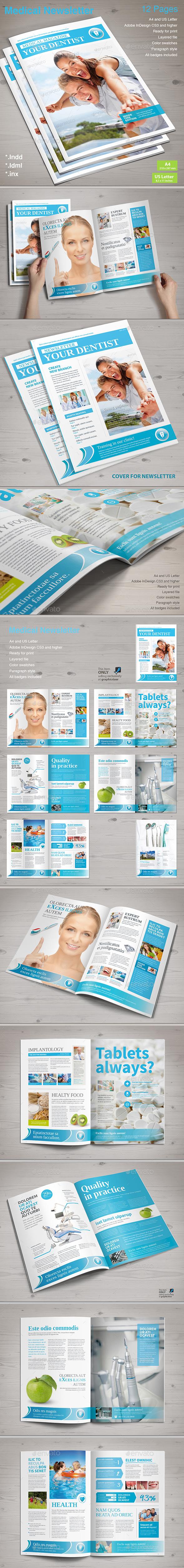 Medical Newsletter - Newsletters Print Templates