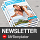 Medical Newsletter - GraphicRiver Item for Sale