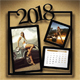 Customizable Calendar 2018 Photo Frame V05 - GraphicRiver Item for Sale