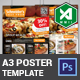 A3 Food Poster Template (Light & Dark) - GraphicRiver Item for Sale