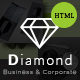 Diamond - Business & Corporate - HTML Template Nulled