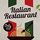 Italian Restaurant Flyer Template - GraphicRiver Item for Sale