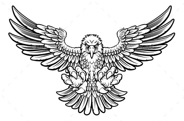 Ferocious Eagle - Animals Characters