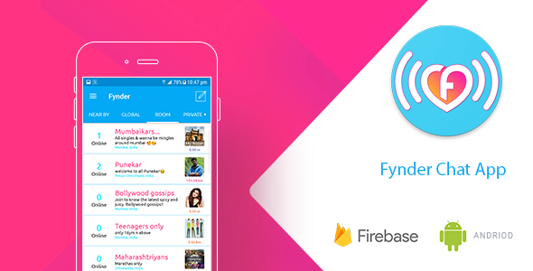 Fynder - Find, Chat,Meet - Realtime Chat Application with Firebase - CodeCanyon Item for Sale