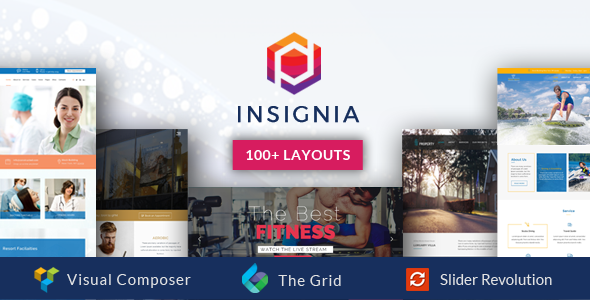 Insignia  - High Performance Creative MultiPurpose WordPress Theme