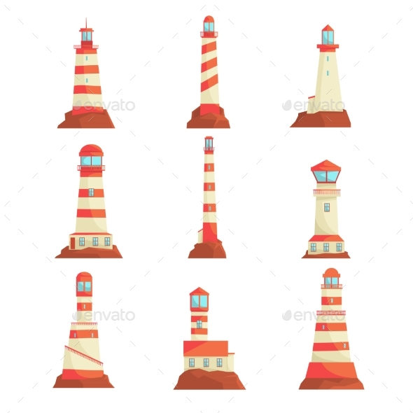 Searchlight Towers for Maritime Navigational - Landscapes Nature