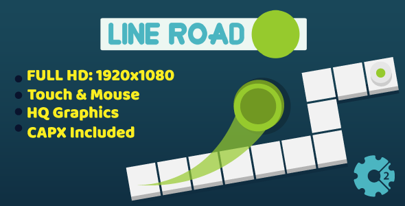 Line Road - HTML5 Game (Construct2) - CodeCanyon Item for Sale