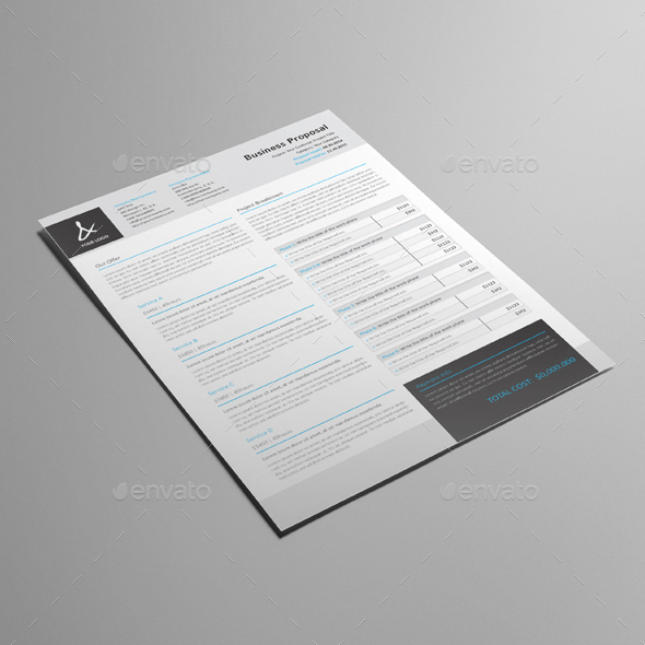 proposal resume template by keboto