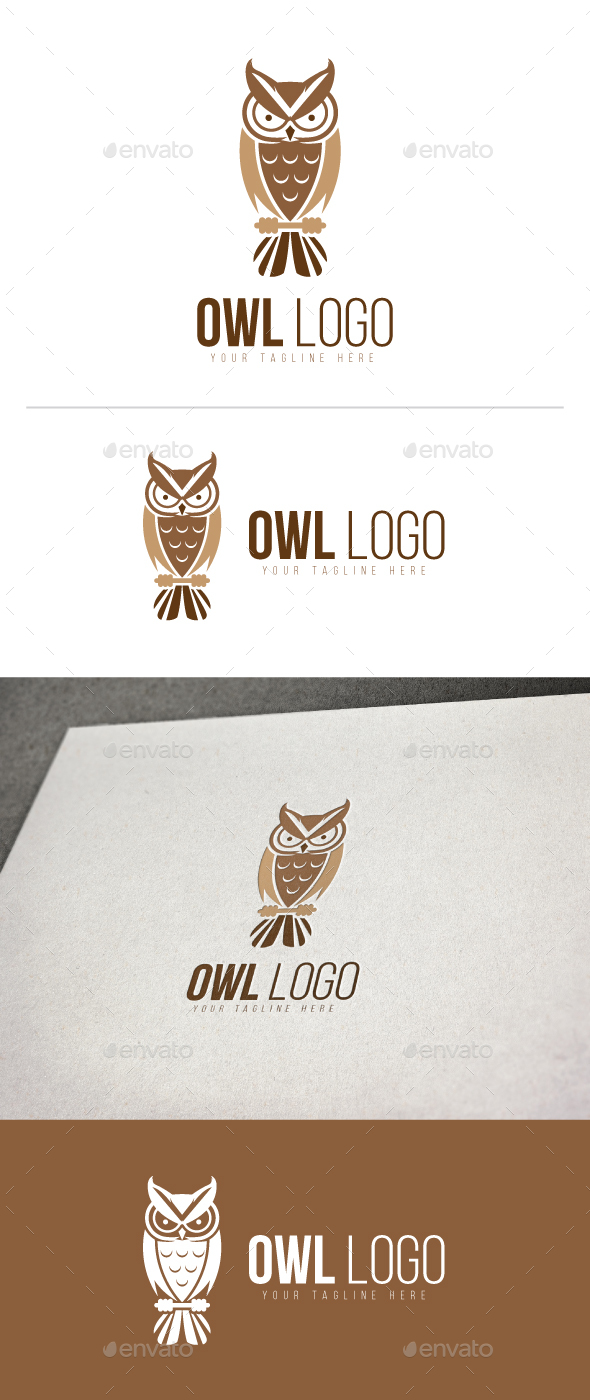 Owl Logo - Animals Logo Templates