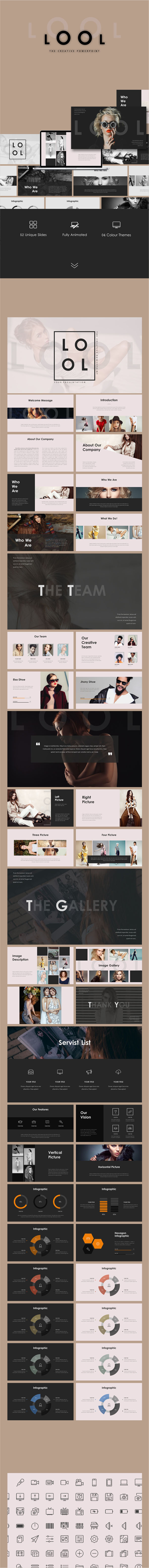 LOOL - Creative Powerpoint - Business PowerPoint Templates
