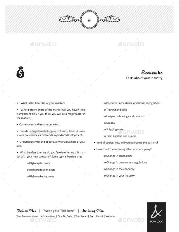 Pages Business Plan Template Letter Format By Keboto - Business plan template for pages