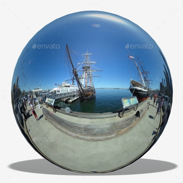 Sunny San Diego Harbour Hdri By Lucky Fingers 3docean