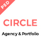 CIRCLE Creative Agency and Portfolio Template - ThemeForest Item for Sale