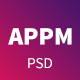 Appm - App Landing PSD Template - ThemeForest Item for Sale