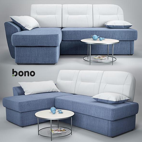 sofa Bono Optima - 3DOcean Item for Sale