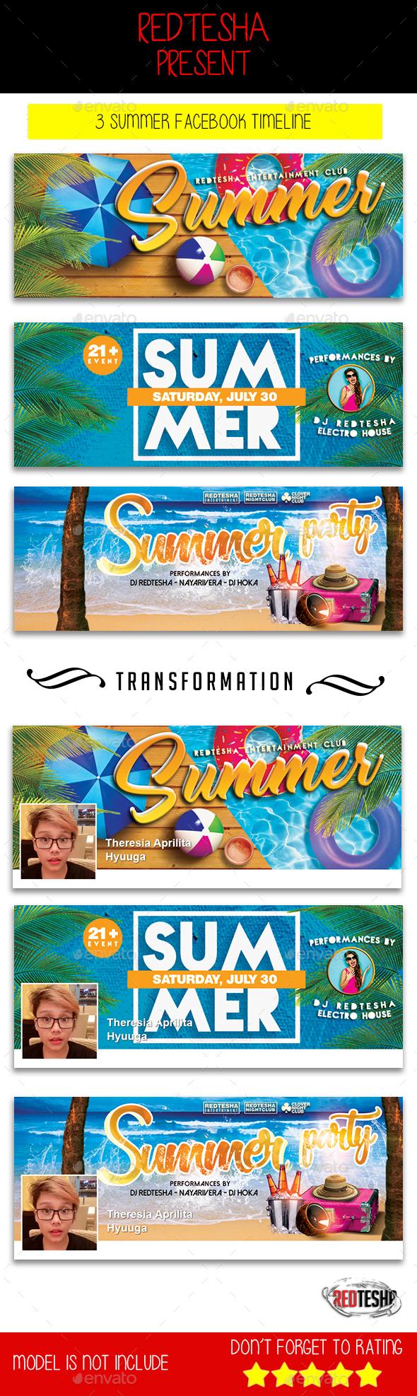 3 Summer Facebook Timeline - Facebook Timeline Covers Social Media