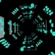 3d Abstract Tunnel Animation - VideoHive Item for Sale