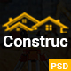 Construction PSD Template - ThemeForest Item for Sale