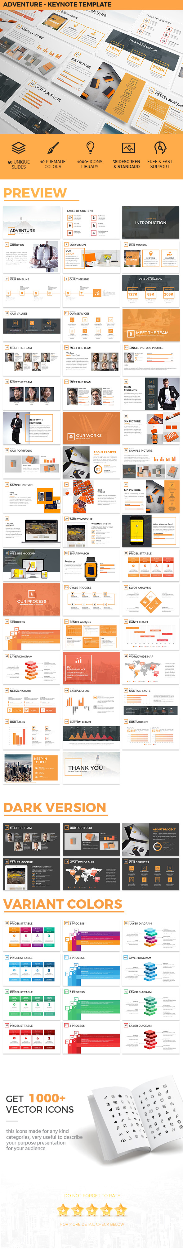 Adventure - Keynote Template Presentation - Business Keynote Templates