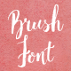 Brush Font - VideoHive Item for Sale