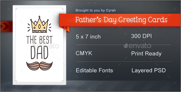 Typographic Fathers Day Greeting Cards - Greeting Cards Cards & Invites