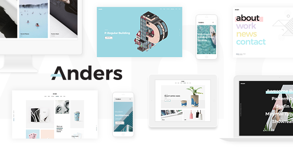 Anders – A Clean Multi-concept Portfolio Theme