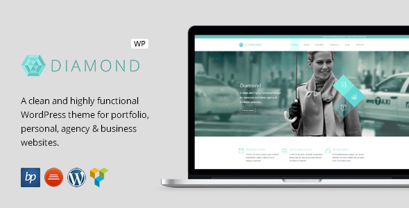 Diamond - Responsive Business WordPress Theme - Business Corporate