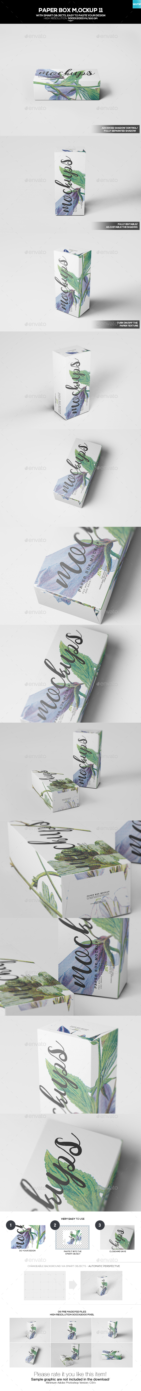 Paper Box Mockup 11 - Miscellaneous Packaging