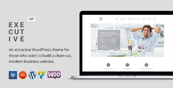Executive - Responsive Business WordPress Theme - Business Corporate