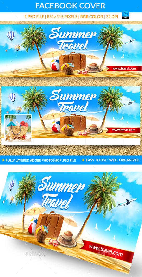 Summer Travel Facebook Cover - Facebook Timeline Covers Social Media
