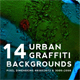 Urban Graffiti Backgrounds v7 - GraphicRiver Item for Sale