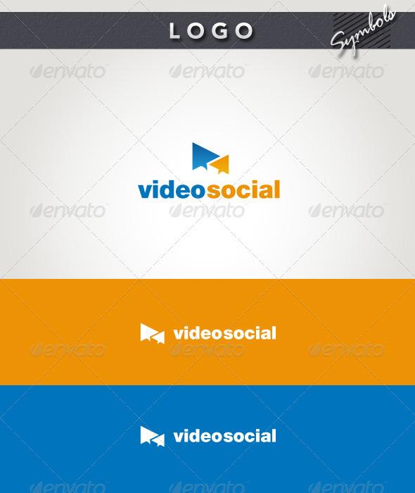 Video Social Logo - Symbols Logo Templates