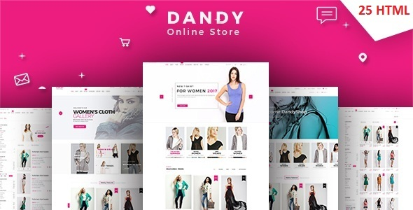 DANDY – Multi-Purpose eCommerce HTML Template