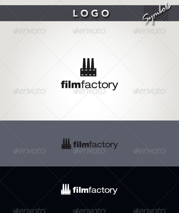 Film Factory Logo - Symbols Logo Templates